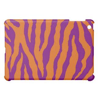 Orange/lila Tiger-Streifen iPad Kasten iPad Mini Hülle