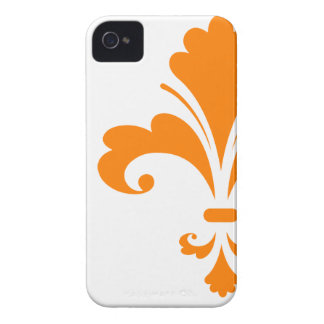 Orange Lilie iPhone 4 Cover
