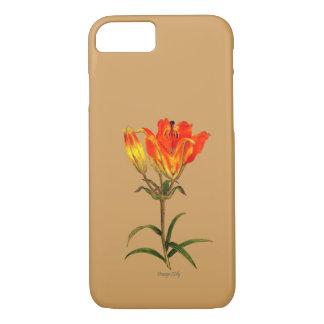 Orange Lilie iPhone 8/7 Hülle