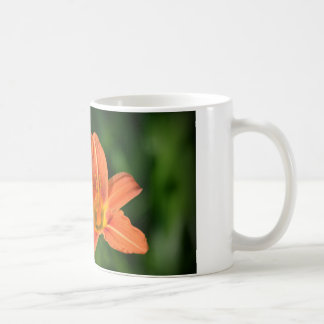 Orange Lilie Kaffeetasse
