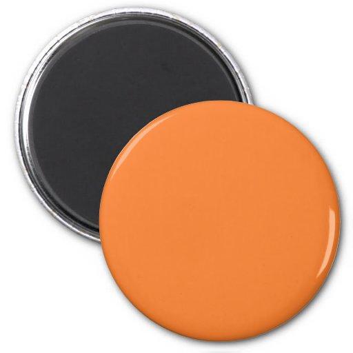 Orange Kühlschrankmagnete