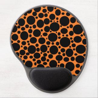 Orange Meer des schwarzen Blasen-Gels Mousepad Gel Mousepads