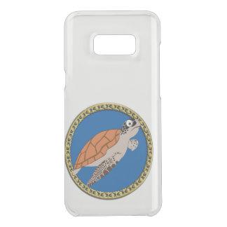 Orange Meeresschildkröteschwimmen mit einem Get Uncommon Samsung Galaxy S8 Plus Hülle
