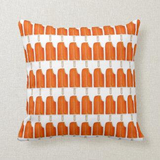 Orange n Creme-Eiscreme-Poppopsicles-Feinschmecker Kissen