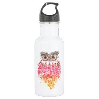 Orange Owl Dream catcher Trinkflasche