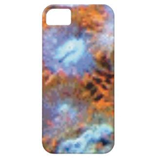 orange Ozeanfinger-Blumen iPhone 5 Case