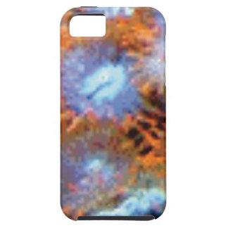 orange Ozeanfinger-Blumen iPhone 5 Cover