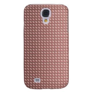 Orange Paillette-Schimmer Galaxy S4 Hülle