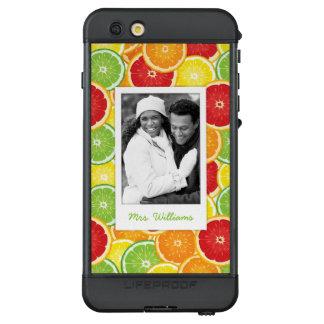 Orange, Pampelmuse, Limones u. Zitrone | addieren LifeProof NÜÜD iPhone 6s Plus Hülle