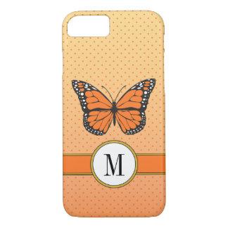 Orange PastellOmbre u. iPhone 8/7 Hülle