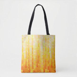 Orange Pixel-Tasche Tasche