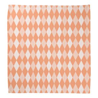 Orange Rauten-PastellMandarine-kleine Diamant-Form Kopftuch