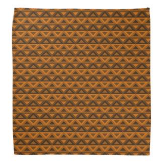 Orange Rhombus™ Bandanna Kopftuch