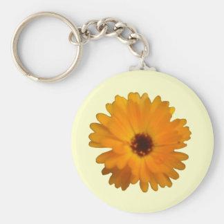Orange Ringelblume Keychain Schlüsselanhänger