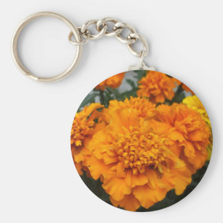 Orange Ringelblume Schlüsselanhänger