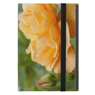 Orange Rose Painterly iPad Mini Etui