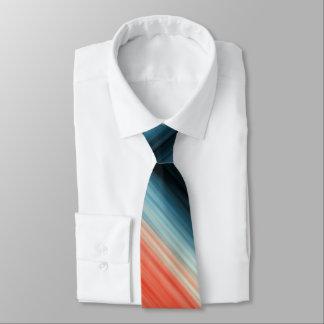 Orange Rot-blaue Streifen Individuelle Krawatten