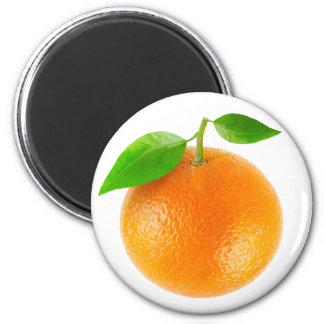 Orange Runder Magnet 5,1 Cm