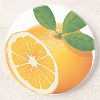 Orange Sandstein Untersetzer