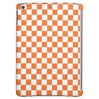Orange Schachbrett