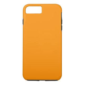 ORANGE SCHALE (feste fruchtige Farbe) ~ iPhone 8 Plus/7 Plus Hülle