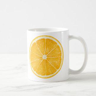Orange Scheibe Kaffeetasse