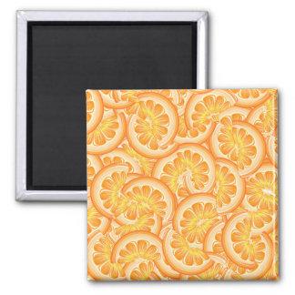 Orange Scheibe-Magnet Quadratischer Magnet