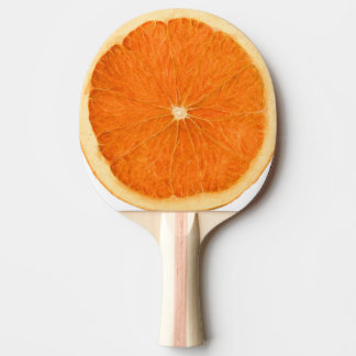 orange Scheibe Tischtennis Schläger
