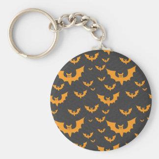 Orange Schläger Schlüsselanhänger