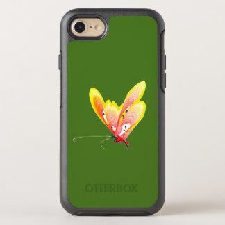 Orange Schmetterling auf iPhone 6/6s OtterBox Symmetry iPhone 8/7 Hülle