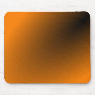 Orange schwarze Steigung Mousepad
