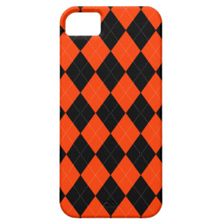 Orange schwarzer Raute iPhone 5/5s Kasten Schutzhülle Fürs iPhone 5