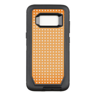 Orange-Sherbet-Checks_Unisex-Apple_Samsung OtterBox Defender Samsung Galaxy S8 Hülle