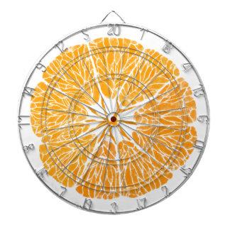 Orange Sie froh… Dartscheibe