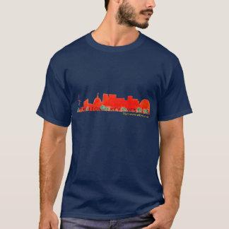 Orange Skyline-T - Shirt