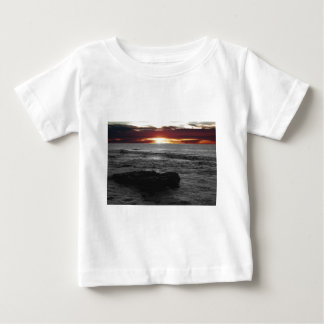 Orange Sonnenuntergang Baby T-shirt