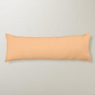 Orange Sorbett-Farbe Seitenschläferkissen