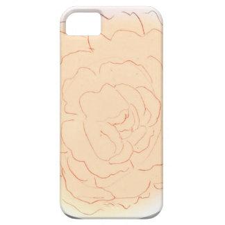 Orange Sorbett-Kohl-Rose Schutzhülle Fürs iPhone 5