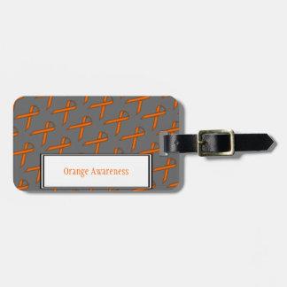 Orange Standardband durch Kenneth Yoncich Kofferanhänger