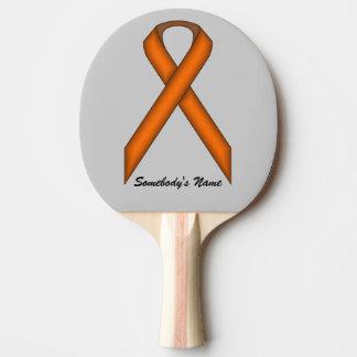 Orange Standardband durch Kenneth Yoncich Tischtennis Schläger
