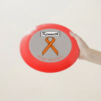 Orange Standardband durch Kenneth Yoncich Wham-O Frisbee