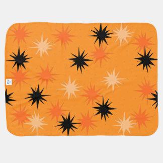 Orange Sternexplosion-Baby-atomardecke Kinderwagendecke