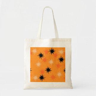 Orange Sternexplosion-Taschen-atomartasche Tragetasche