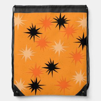 Orange Sternexplosionendrawstring-atomarrucksack Sportbeutel