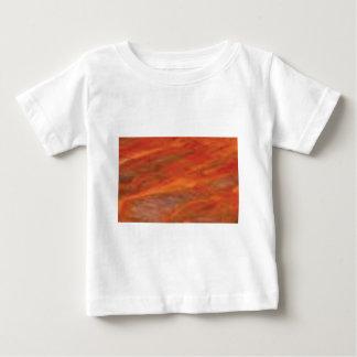 orange Streifen Baby T-shirt