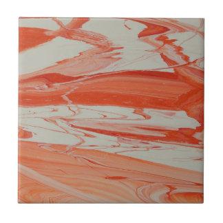 Orange Strudel Fliese
