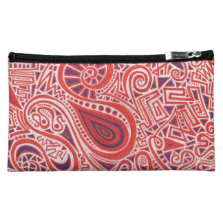 Orange Strudel-Kosmetik-Tasche Cosmetic Bag