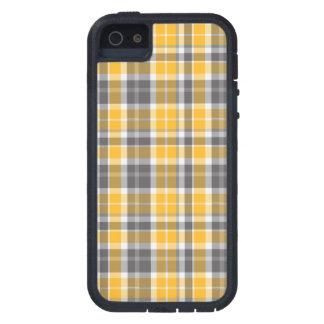 Orange Tartan iPhone Kasten Tough Xtreme iPhone 5 Hülle