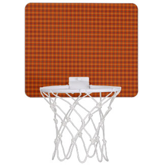 Orange Tartan-Minibasketball-Ziel Mini Basketball Ringe