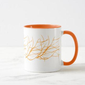 orange tasse